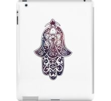 Midnight Fatima Hand Hamsa iPad Case/Skin