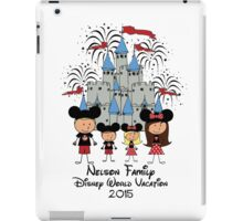 Choose your character Castle Family Vacation ~ DO NOT PURCHASE THIS SAMPLE. SEE DESCRIPTION iPad Case/Skin