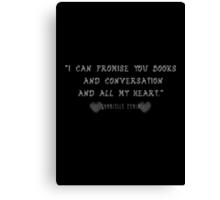 All My Heart Canvas Print
