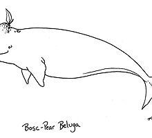 Bosc Pear Beluga by kellymaryanski