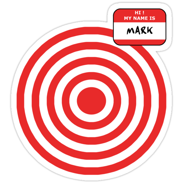 Hi, my name is Mark by Octochimp Designs