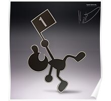 Mr. Game & Watch Poster