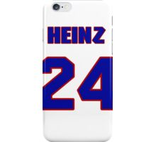National baseball player Heinz Becker jersey 24 iPhone Case/Skin