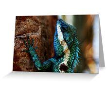 Lizard Scales- Phu Kradeung National Park, Thailand Greeting Card
