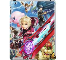 Super Smash Bros - Shulk, Kirby, Bowser, Marth, Ike iPad Case/Skin