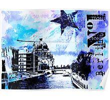 Blue Berlin Poster