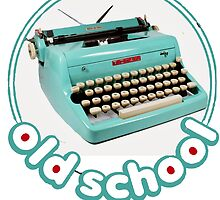 Old school Typewriter by Prussia