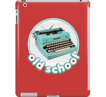 Old school Typewriter iPad Case/Skin