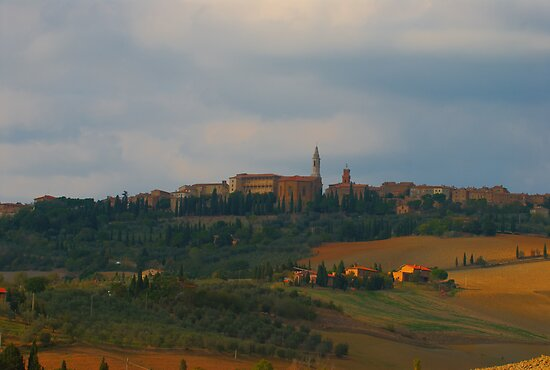 Pienza, Tuscany, Italy by Andrew Jones