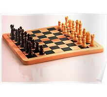 Chess Set Poster
