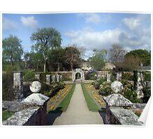 Dromoland walled garden Poster