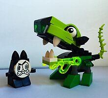 Lego Mixel Glurt by FendekNaughton