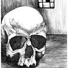 lone skull by Vanessa DeWig