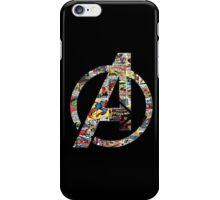 Avengers logo iPhone Case/Skin