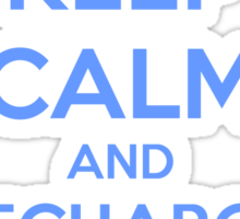 Keep Calm and Recharge (RES) Sticker