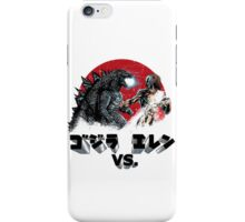 Kaiju vs Titan iPhone Case/Skin
