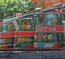 Decorated Buckby Cans by SimplyScene