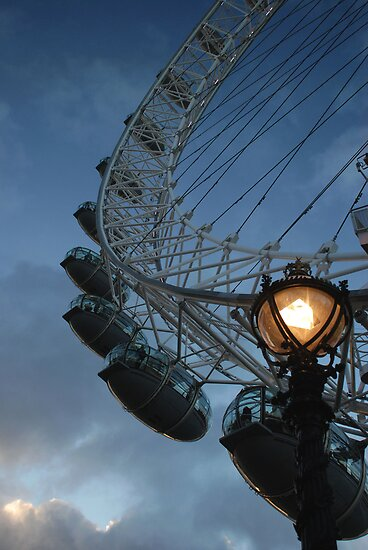 The London Eye by Jane Hansen