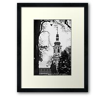 Chapel of the Revelation of the Lord, Smirice, Czech Republic Framed Print