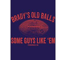 Brady's Old Balls Photographic Print