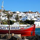 Mykonos, Greek Isles by Karen Cougan
