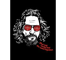 The Big Lebowski - The Dude Photographic Print