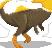 Pixel Concavenator Sticker