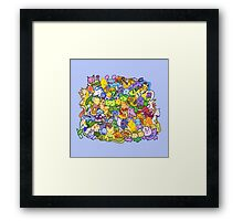 Shiny 150 Framed Print