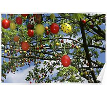 Easter Tree Poster