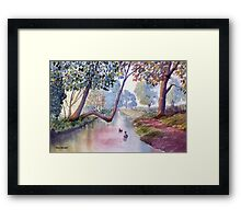 Lazy Afternoon at Brompton by Sawdon Framed Print