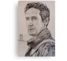 Paul McGann the eighth Doctor Canvas Print