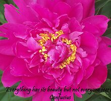 Everything has Beauty by Michelle BarlondSmith