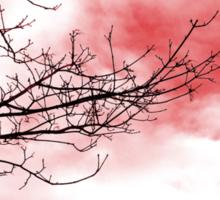 red sky Sticker