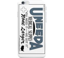 Uneeda Medical Supply (Return of the Living Dead) iPhone Case/Skin