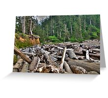 log jam Greeting Card