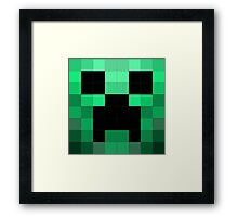 Creeper phone case  Framed Print