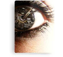 Clockwork Perspective Metal Print