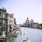 The Grand Canal in Venice by Elana Bailey