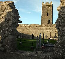 Clare Abbey ruins by John Quinn
