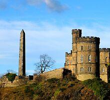 Edinburgh Old Prison by Linda More
