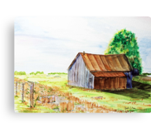 Meadow Shed Canvas Print