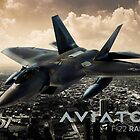 F-22 Raptor Fighter Jet by rott515