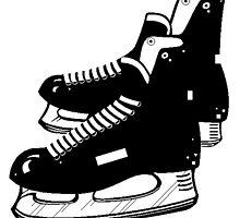 Hockey Skates by kwg2200