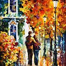 After The Date — Buy Now Link - www.etsy.com/listing/218710335 by Leonid  Afremov