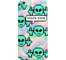 3000% DONE iPhone Case/Skin