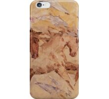 Caravan of horses iPhone Case/Skin