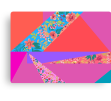 Floral Angles Canvas Print