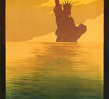 Statue of Liberty (Reproduction) by Roz Abellera Art