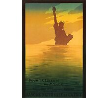 Statue of Liberty (Reproduction) Photographic Print
