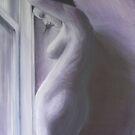 Purple nude by Glenn McLeary